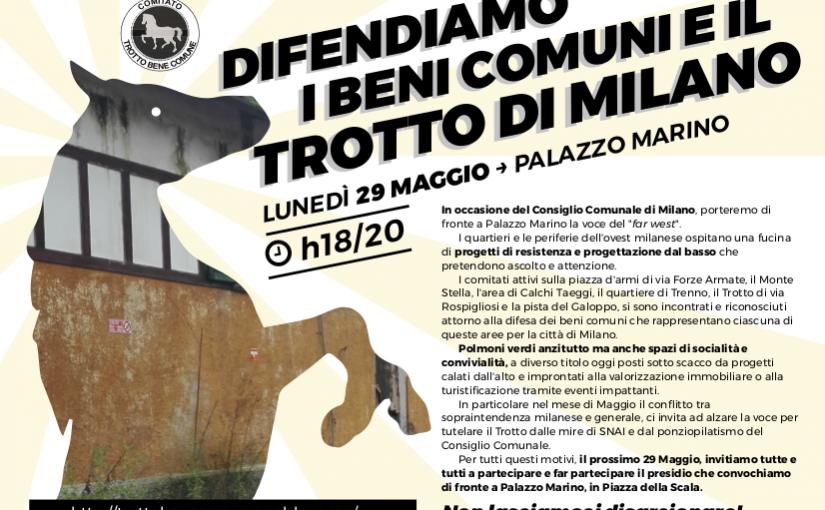 Difendiamo i beni comuni e il Trotto di Milano